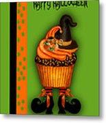 Witch Cupcake 3  Metal Print