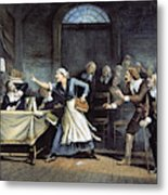 Witch Trial Metal Print