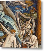 Witches Metal Print by Hans Baldung Grien