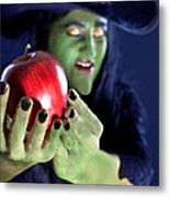 Witch's Apple Metal Print