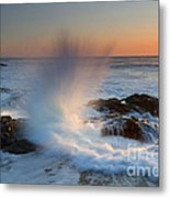 With Force Metal Print