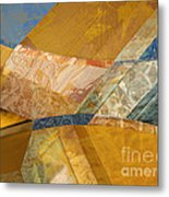 With The Floorboards  Metal Print