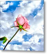 With You Always Metal Print