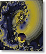 Within A Wave Metal Print