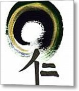 Within Benevolence - Zen Enso Metal Print