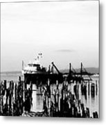 With'in The Harbor Metal Print