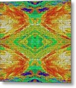 Within You Without You Mosaic Metal Print