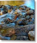 Without Obstruction Metal Print