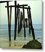 Without Pier Metal Print