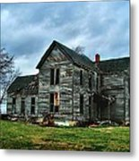 Withstanding Another Spring Storm  Metal Print by Julie Dant