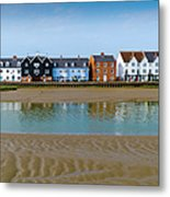 Wivenhoe Waterfront Metal Print by Gary Eason