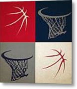 Wizards Ball And Hoop Metal Print