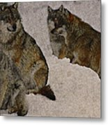 Wolf 2 Metal Print