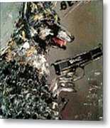 Wolf In Sheep's Clothing Metal Print