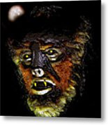 Wolf Man Original Work One Metal Print