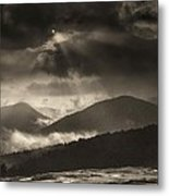 Wolf Rock At Stone Mountain State Park  Metal Print