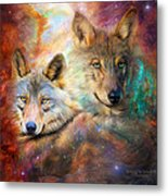Wolf - Spirit Of The Universe Metal Print