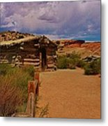 Wolfe Ranch Metal Print