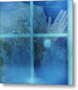 Woman At A Window Metal Print