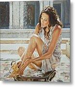 Woman Bathing 2013 Metal Print