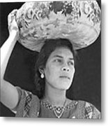 Woman In Tehuantepec, Mexico, 1929 Metal Print