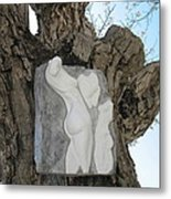 Woman Torso - Cast 1 Metal Print by Flow Fitzgerald