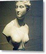 Womans Bust Metal Print