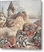 Women At The Siege Of Marseille Metal Print