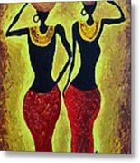 Women At Work Metal Print by Shruti Prasad