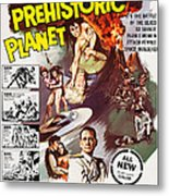 Women Of The Prehistoric Planet, Us Metal Print