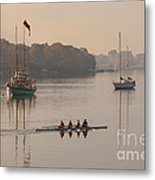 Women's Four And More On The Chester River Metal Print