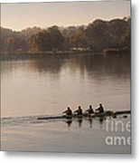 Women's Four On The Chester River Metal Print