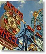 Wonder Wheel - Coney Island Metal Print