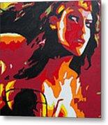 Wonder Woman - Sister Inspired Metal Print