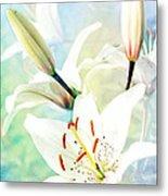 Wonderful Lilies Metal Print