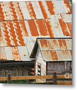 Wonderfully Weathered Metal Print