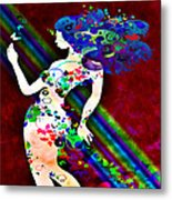 Wondering At The End Of The Rainbow Metal Print