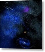 Wonders Of The Universe Mural Metal Print