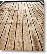 Wood And Water Metal Print