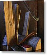 Wood Box Metal Print by Timothy Jones