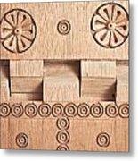 Wood Carving Metal Print by Tom Gowanlock