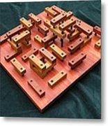 Wood Construction #1 Metal Print