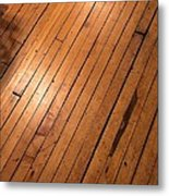 Wood Floor.jpg Metal Print