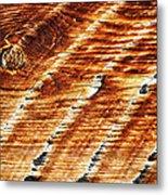 #woodgrain Metal Print