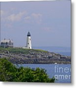 Wood Island Lighthouse Metal Print