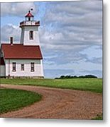 Wood Islands Lighthouse - Pei Metal Print
