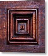 Wood Panel Metal Print