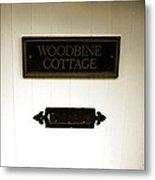 Woodbine Cottage - In Bakewell Town Peak District - England Metal Print