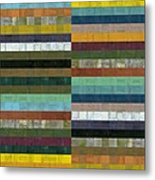 Wooden Abstract Lx Metal Print
