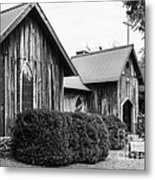 Wooden Country Church 2 Metal Print